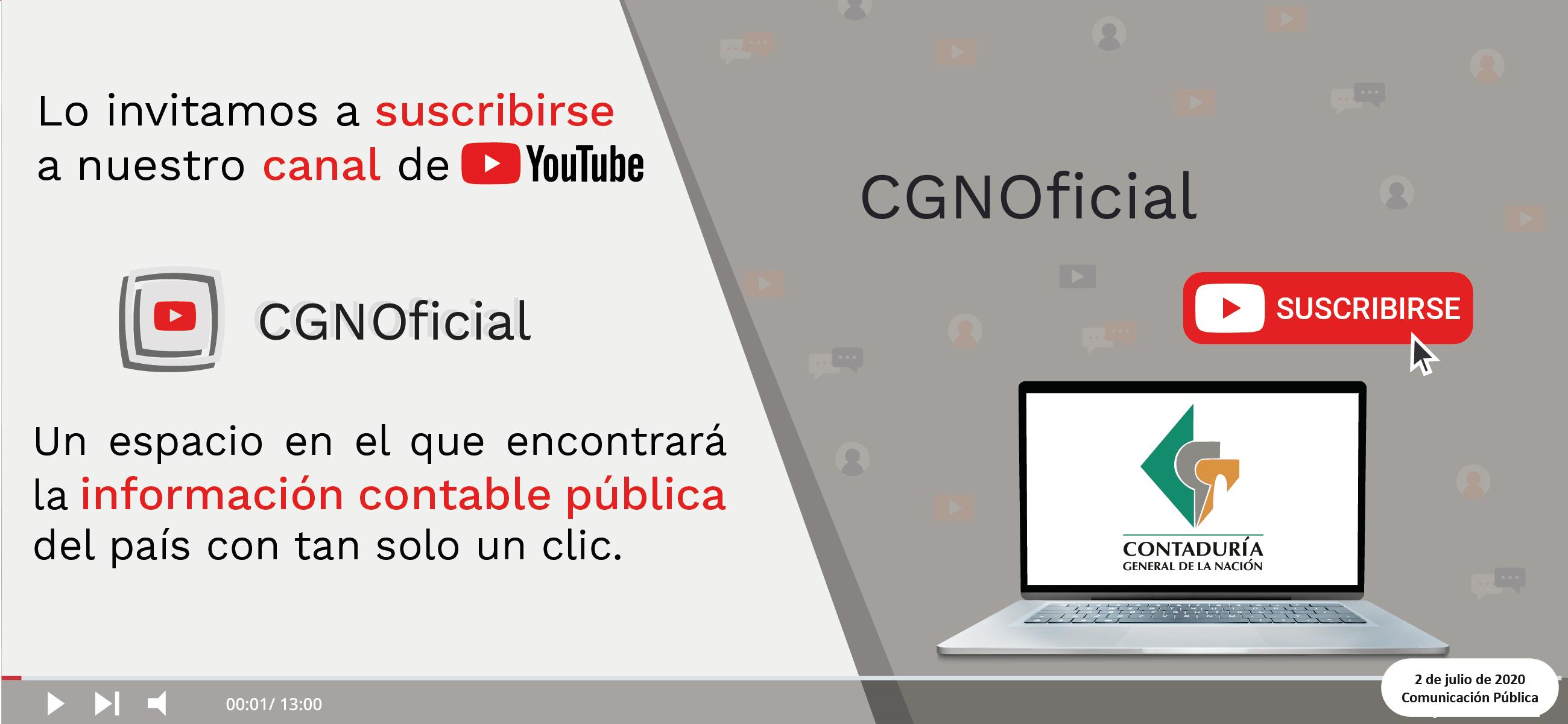 ¿Cómo suscribirse al canal de YouTube?