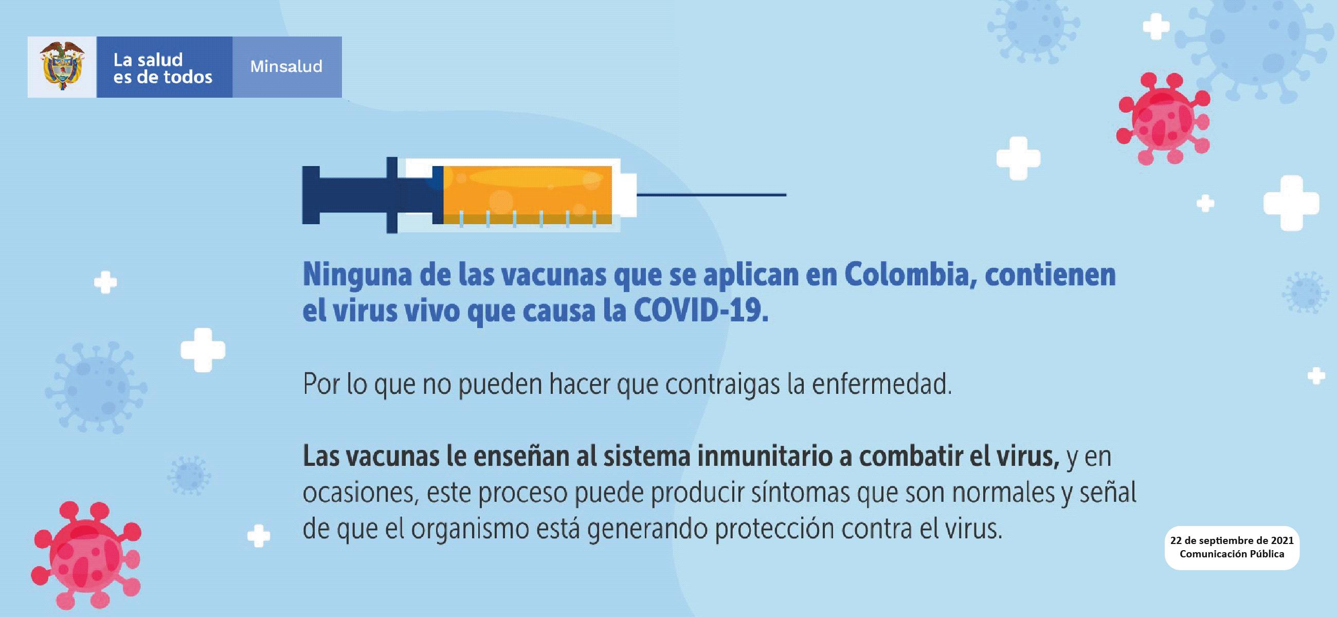 Un mito menos sobre la vacunación contra la COVID-19