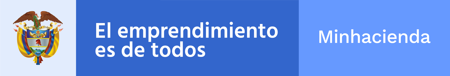 Logo Ministerio de Hacienda y Credito Público